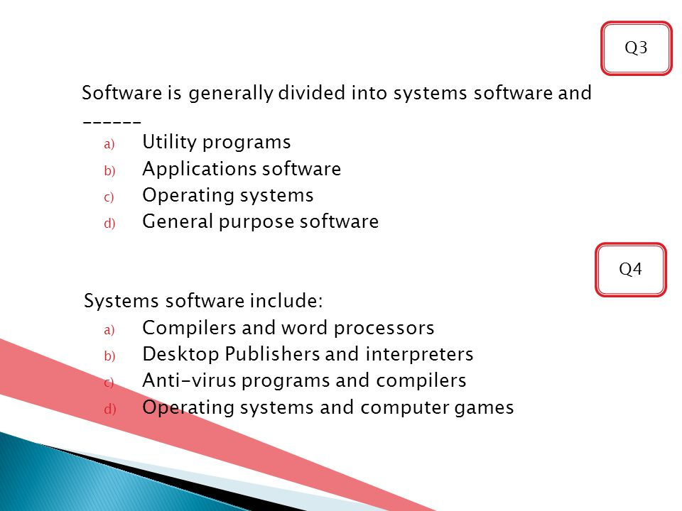 Software is generally divided into systems software and ______