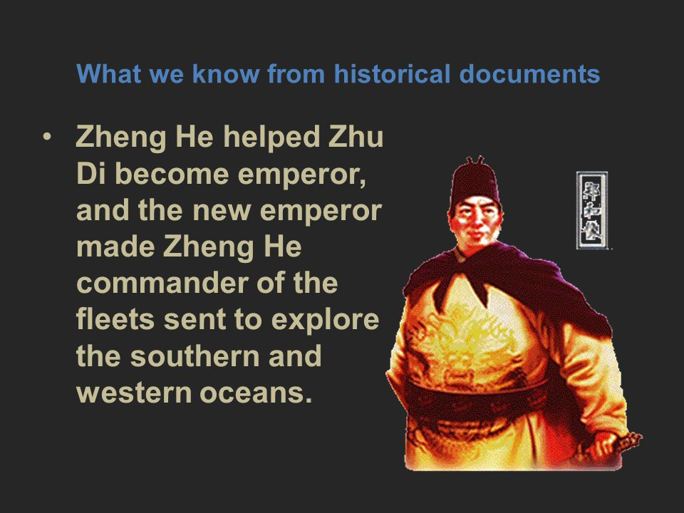 What we know from historical documents