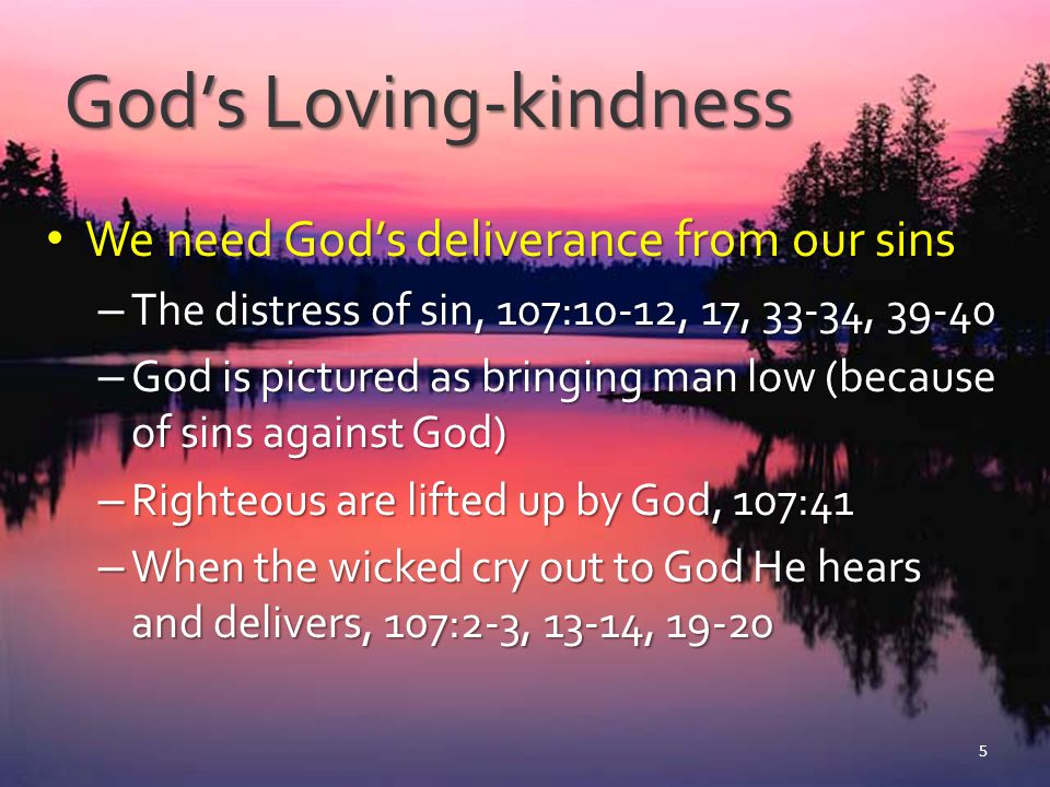 God's Loving-kindness
