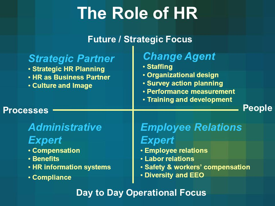 hr as a strategic partner Hr business partner definitionhr business partners are hr professionals who work closely with an organisation's senior leaders i.