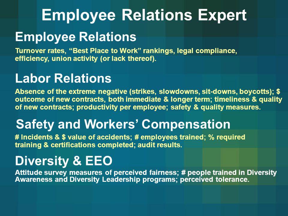Employee Relations Expert