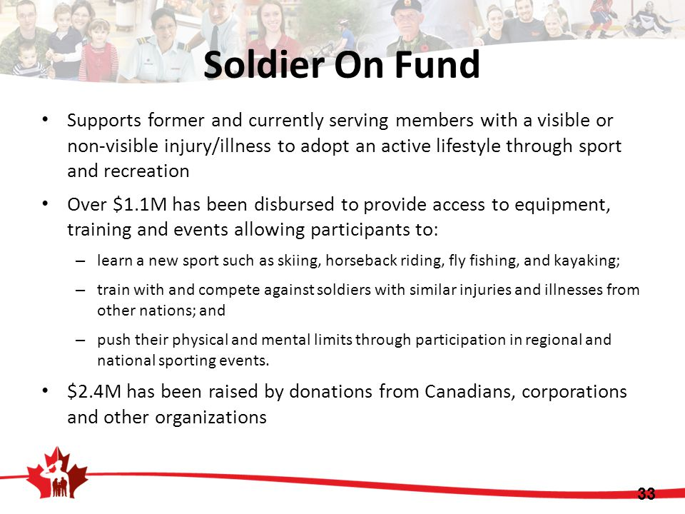 Soldier On Fund