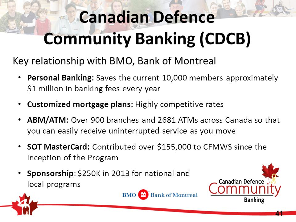 Canadian Defence Community Banking (CDCB)