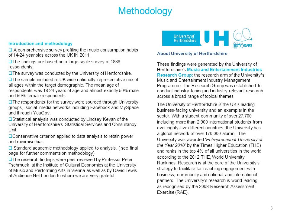 Methodology Introduction and methodology
