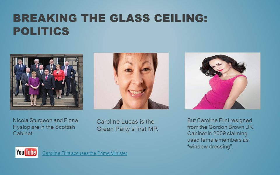 Breaking the glass ceiling: Politics