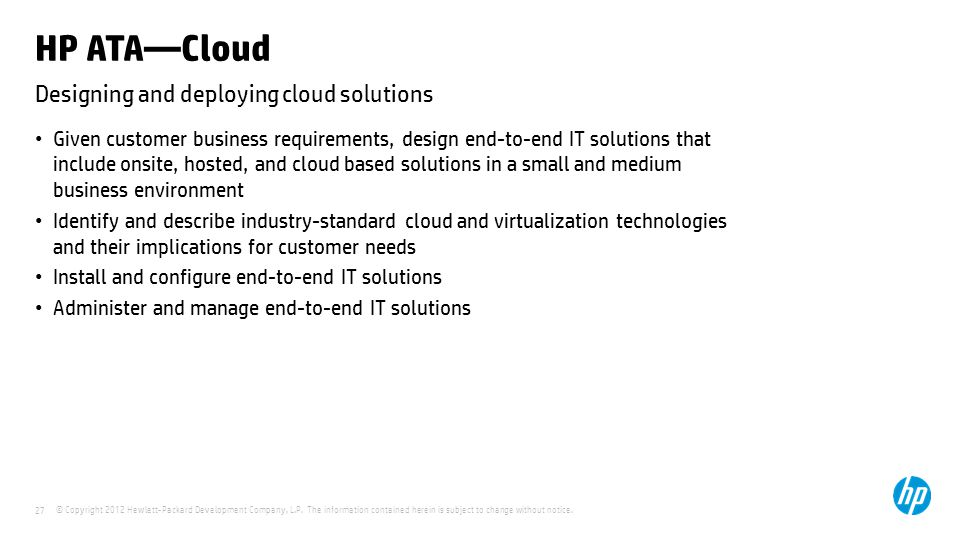 Designing and deploying cloud solutions