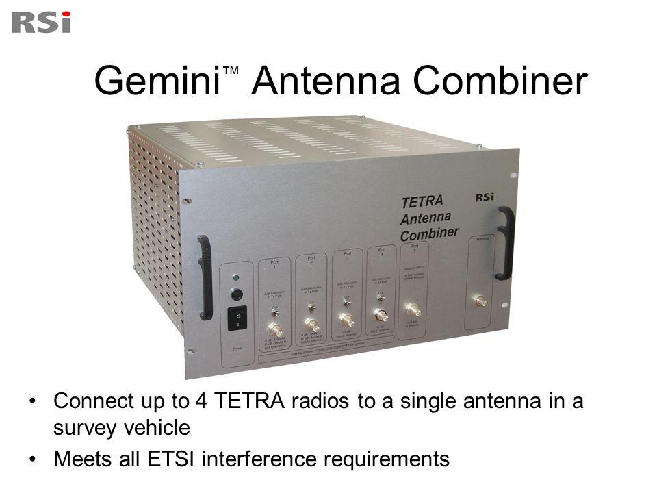 Gemini™ Antenna Combiner