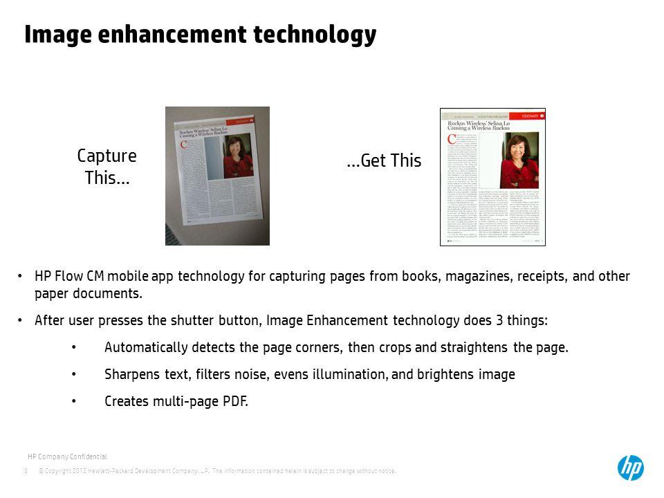 Image enhancement technology