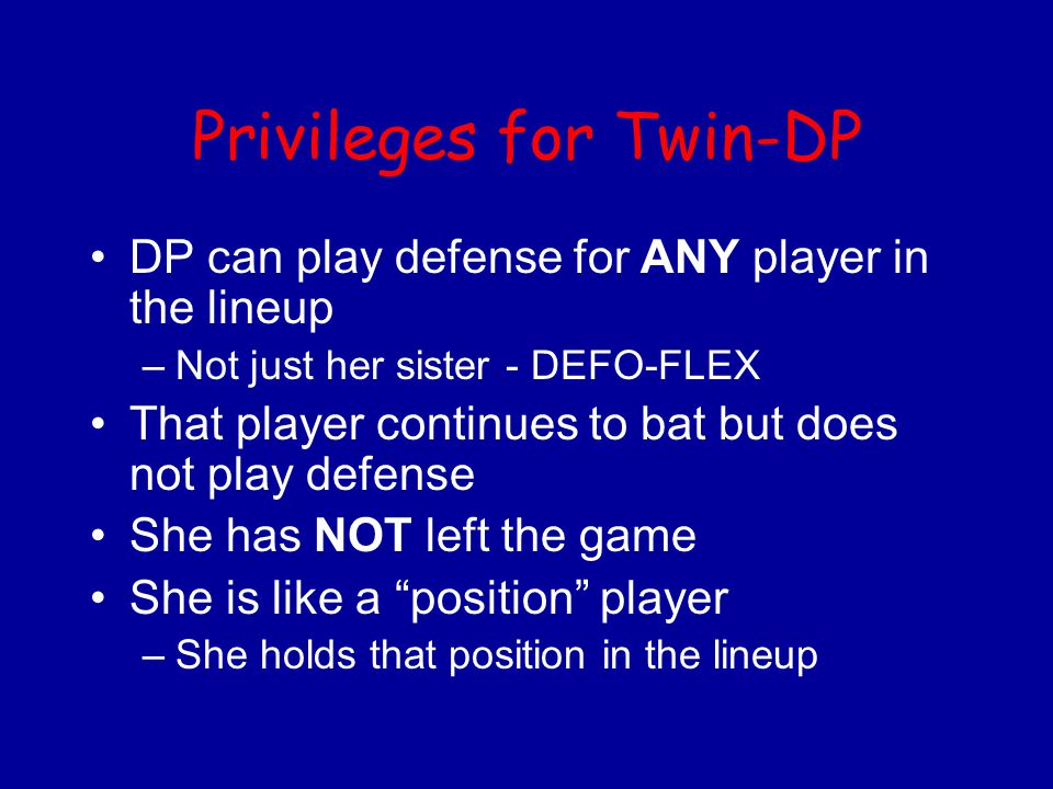 Privileges for Twin-DP