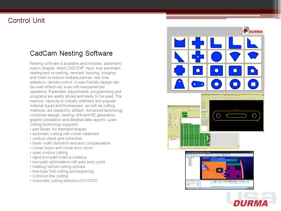 CadCam Nesting Software