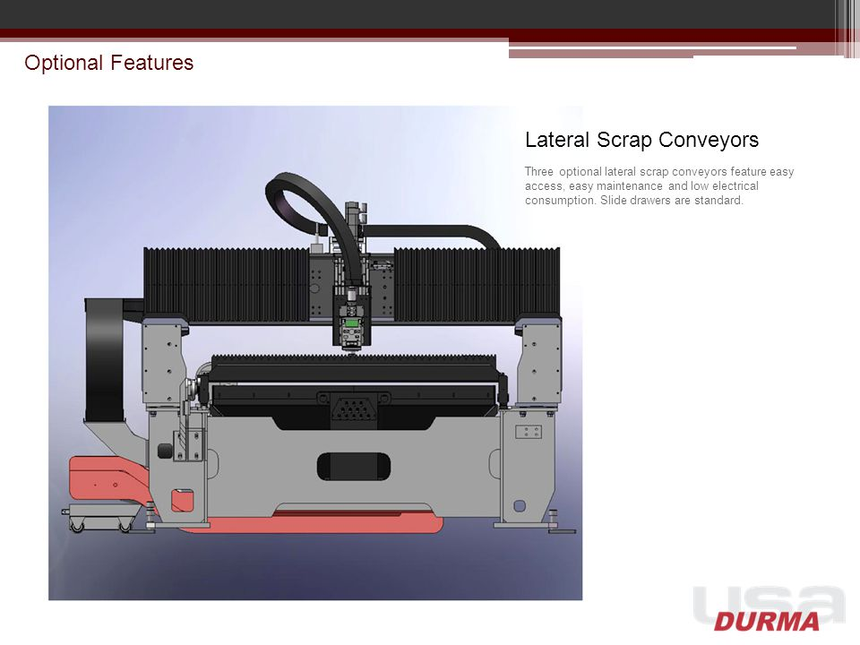 Lateral Scrap Conveyors