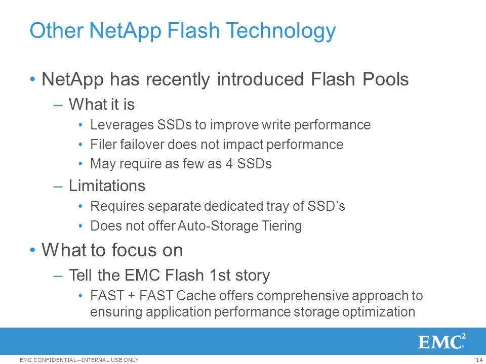 Other NetApp Flash Technology