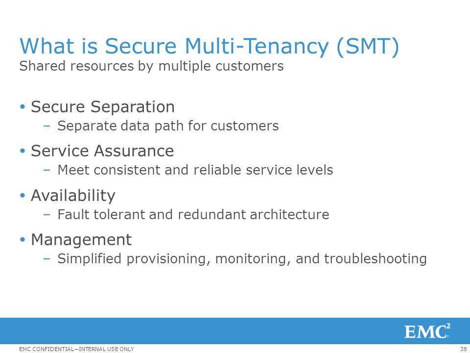 What is Secure Multi-Tenancy (SMT)