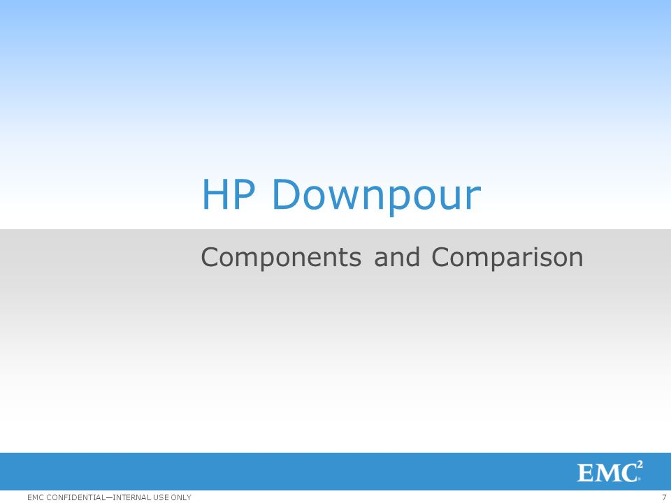 Components and Comparison