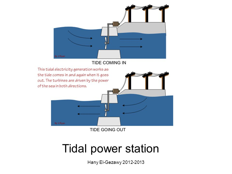 Tidal power station Hany El-Gezawy 2012-2013