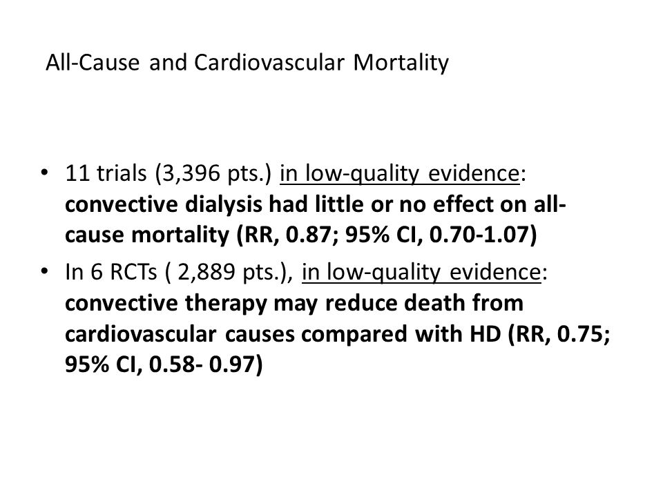 All-Cause and Cardiovascular Mortality