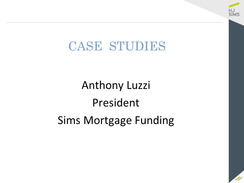 Sims Mortgage Funding - The Commercial