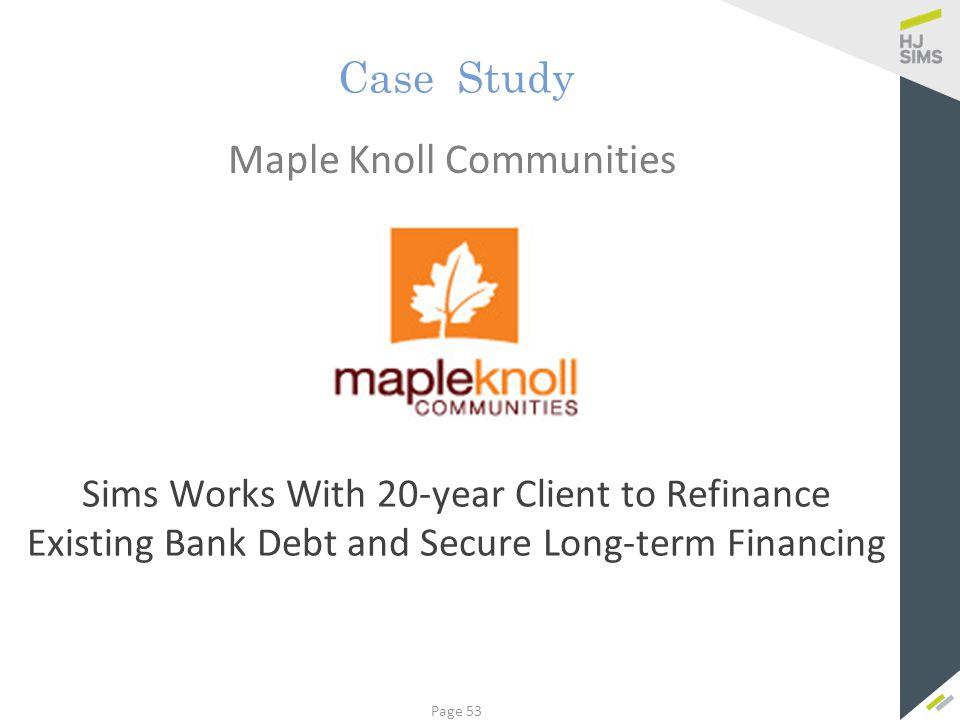 Maple Knoll Communities, Inc.
