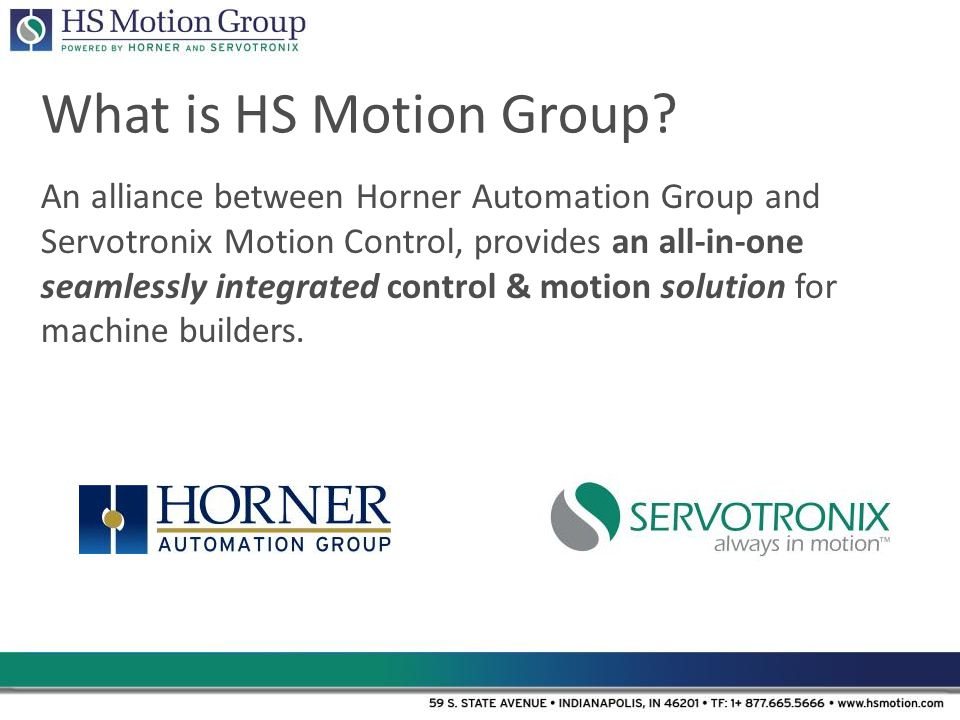 What is HS Motion Group