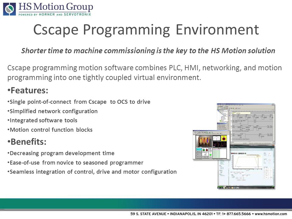 Cscape Programming Environment