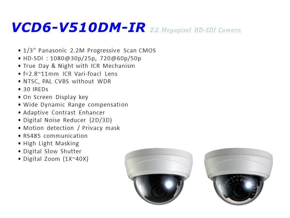 VCD6-V510DM-IR 2.2 Megapixel HD-SDI Camera