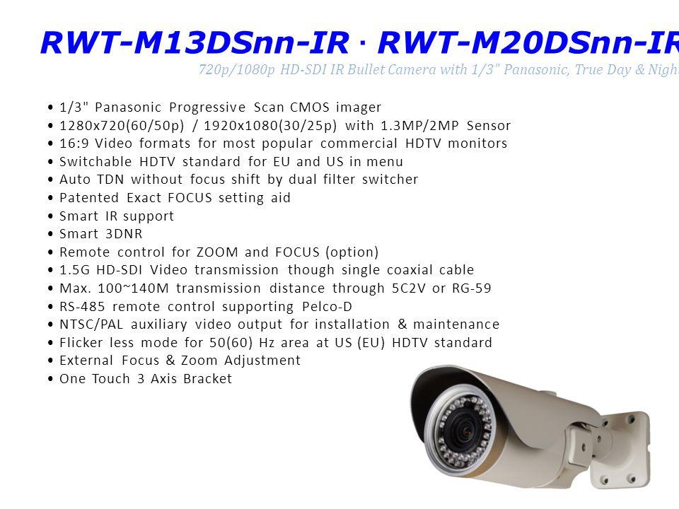 RWT-M13DSnn-IR · RWT-M20DSnn-IR