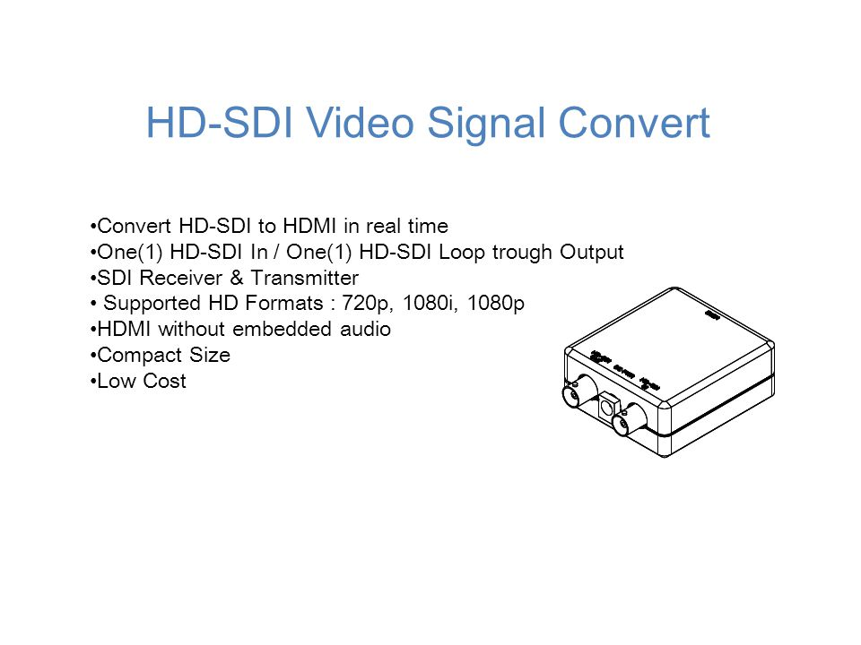 HD-SDI Video Signal Convert