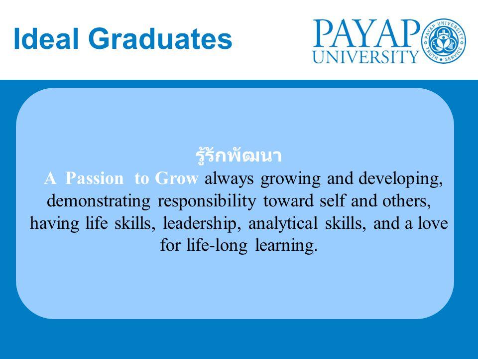 Ideal Graduates รู้รักพัฒนา