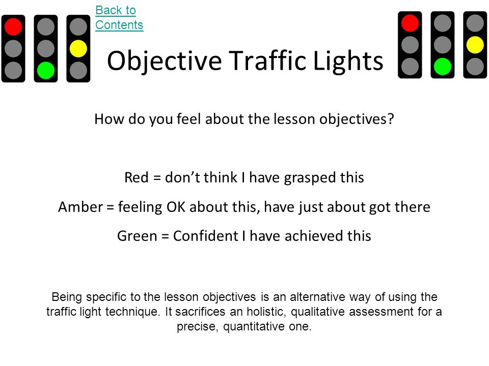 Objective Traffic Lights