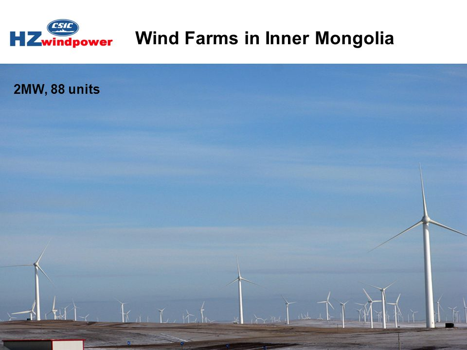 Wind Farms in Inner Mongolia