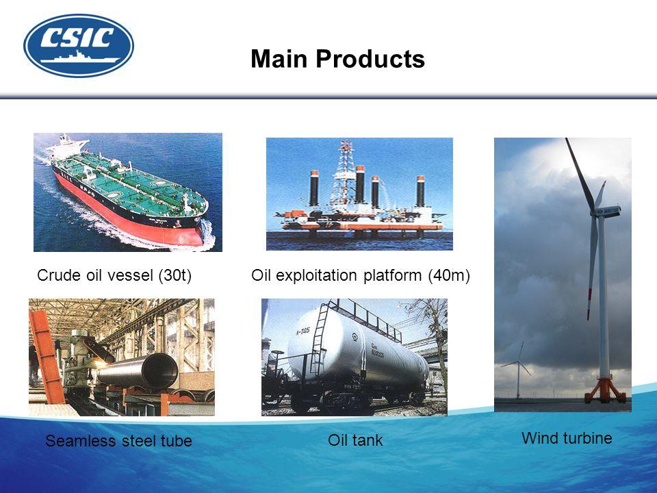 Main Products Seamless steel tube Oil tank Wind turbine