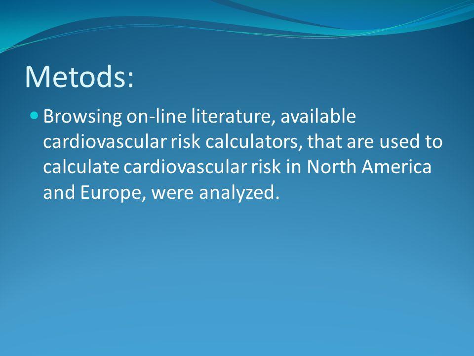 Metods: