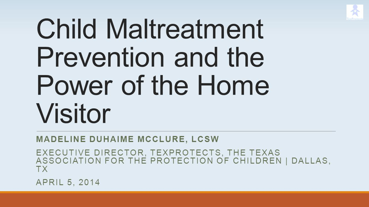 Child Maltreatment Prevention and the Power of the Home Visitor