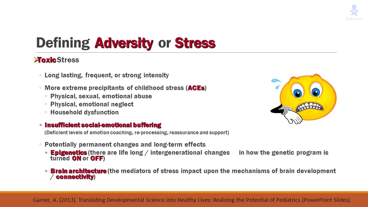 Defining Adversity or Stress