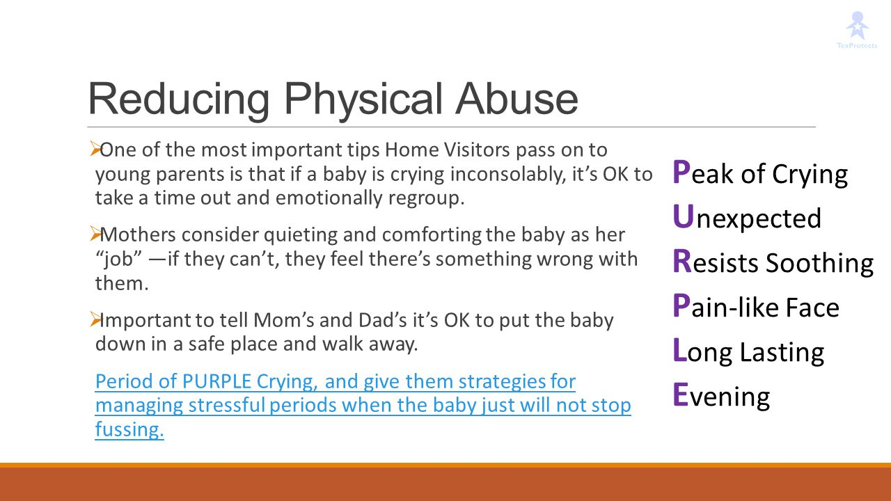 Reducing Physical Abuse