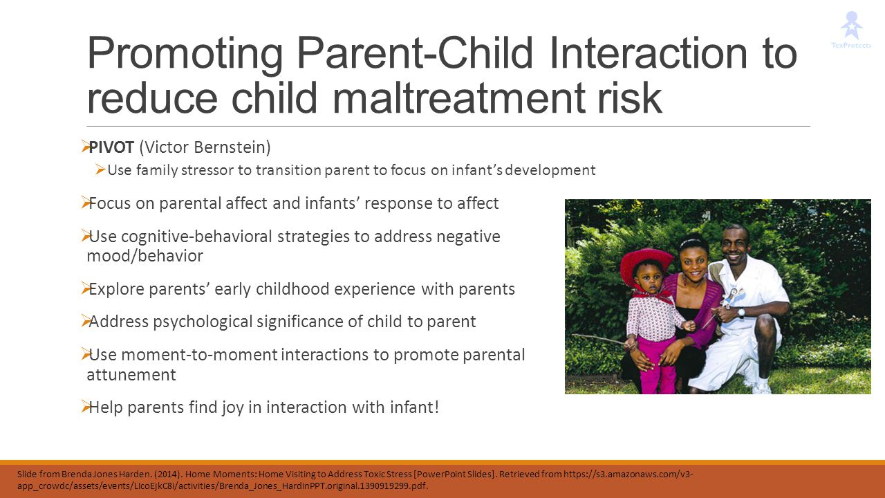 Promoting Parent-Child Interaction to reduce child maltreatment risk