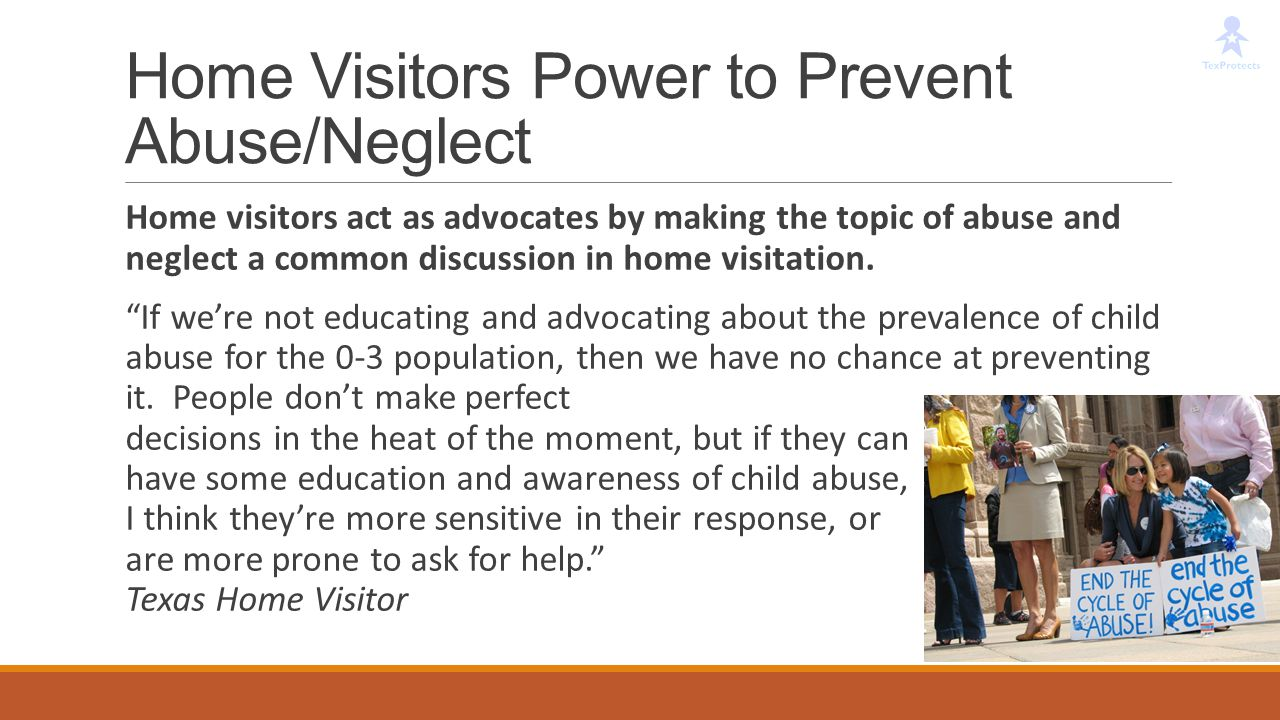 Home Visitors Power to Prevent Abuse/Neglect