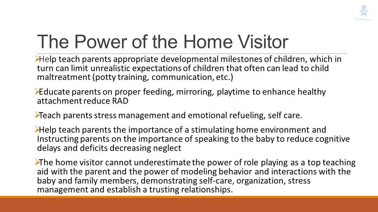 The Power of the Home Visitor