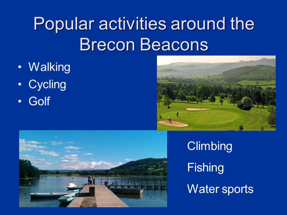 Popular activities around the Brecon Beacons