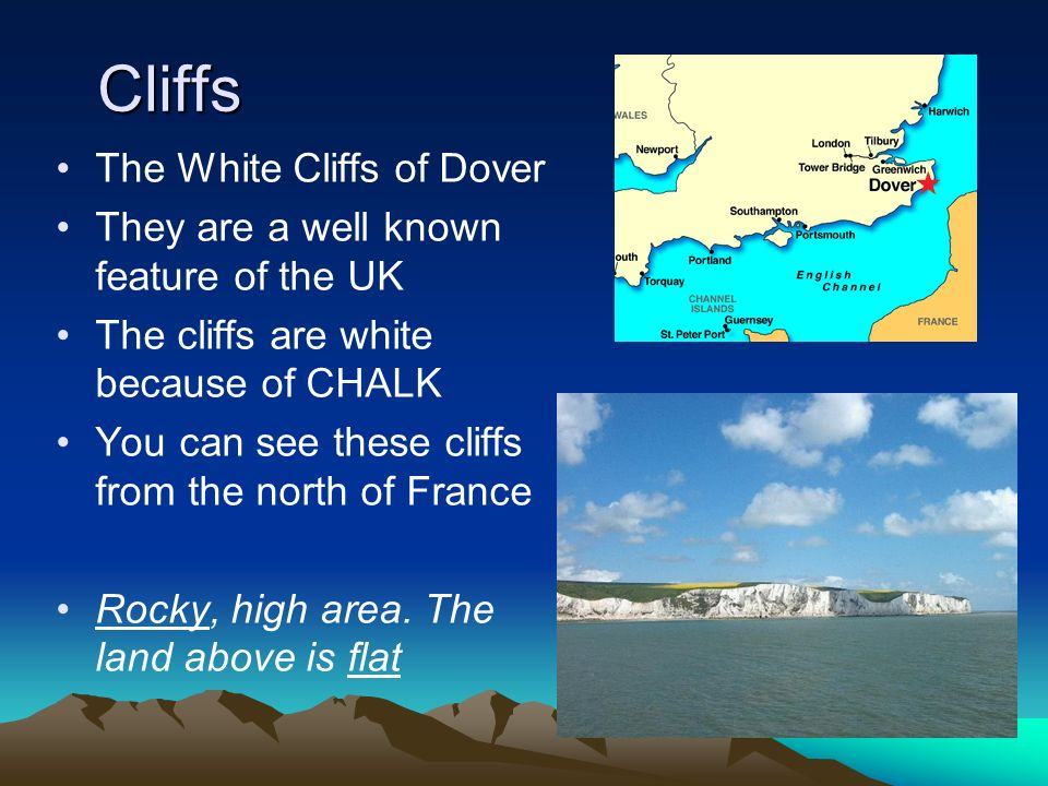 Cliffs The White Cliffs of Dover