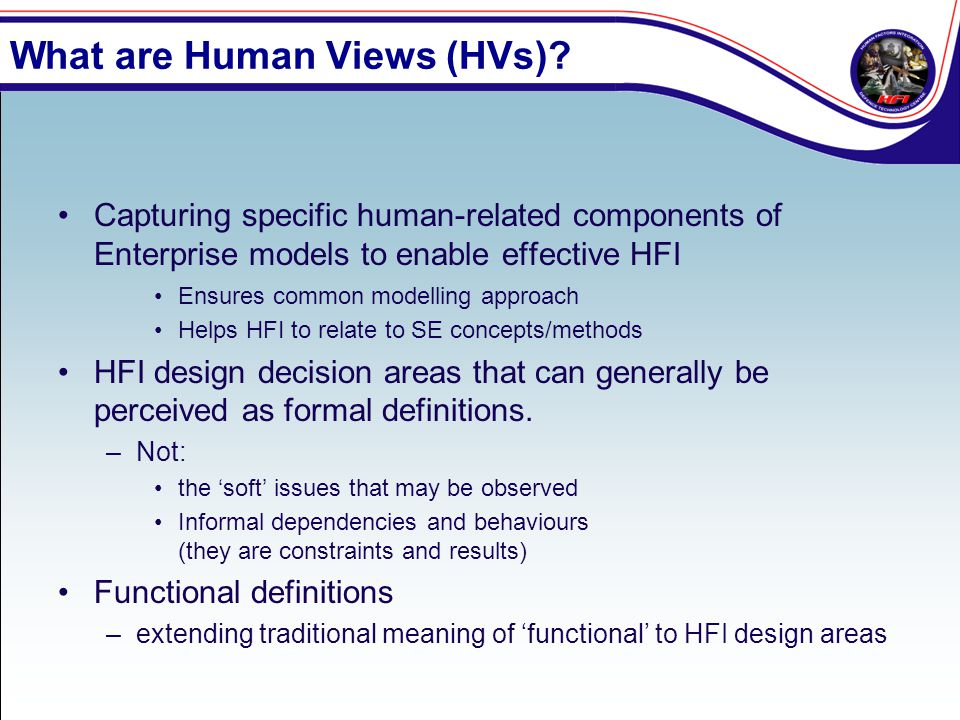What are Human Views (HVs)