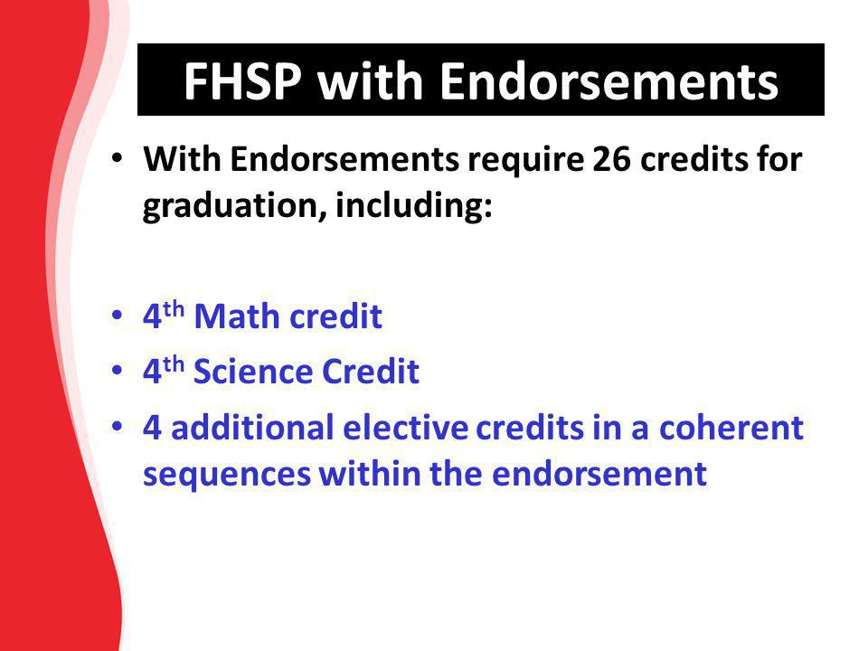 FHSP with Endorsements