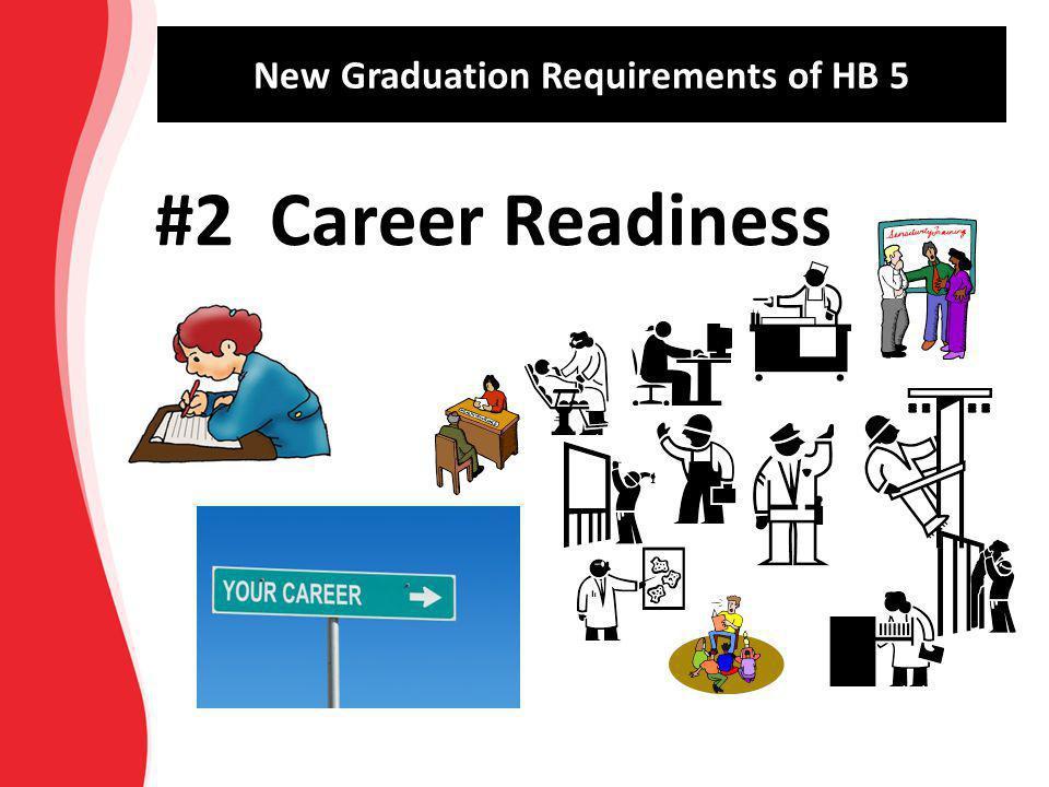 New Graduation Requirements of HB 5