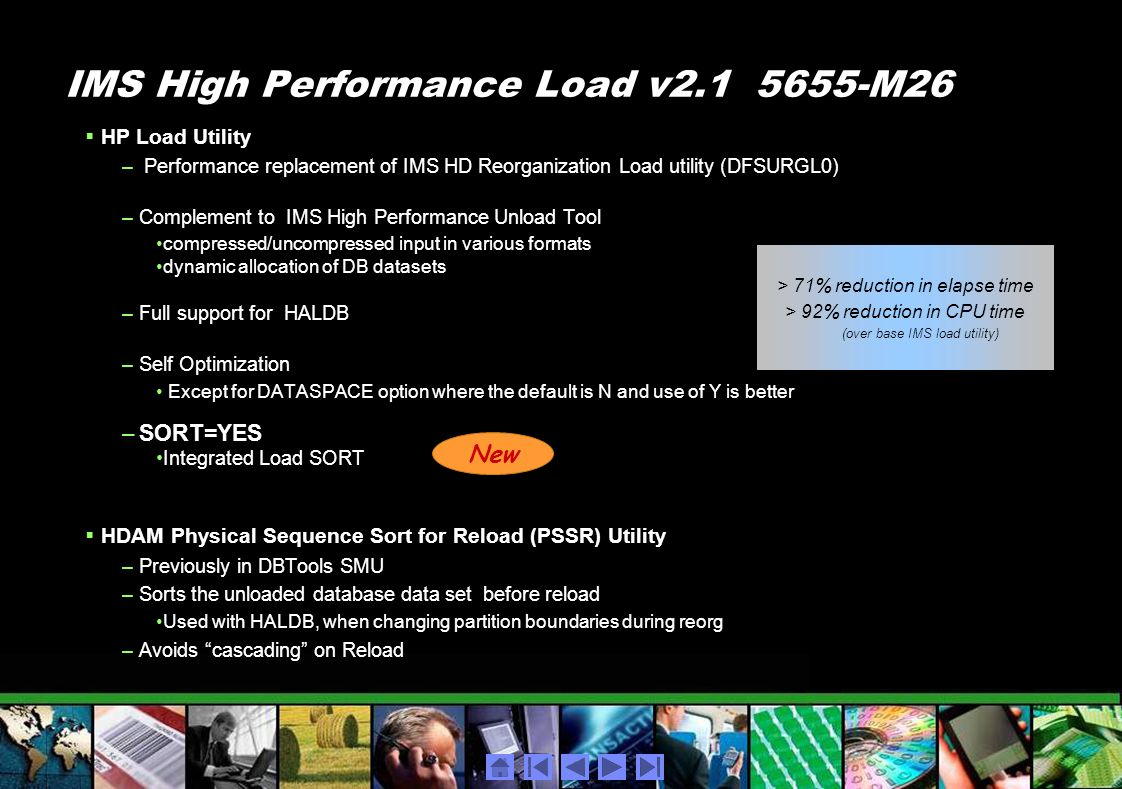 IMS High Performance Load v2.1 5655-M26