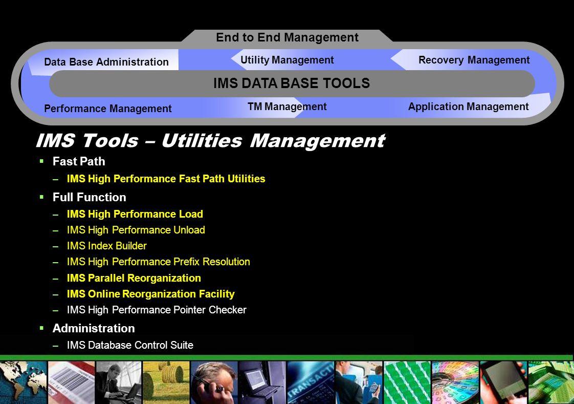 IMS Tools – Utilities Management