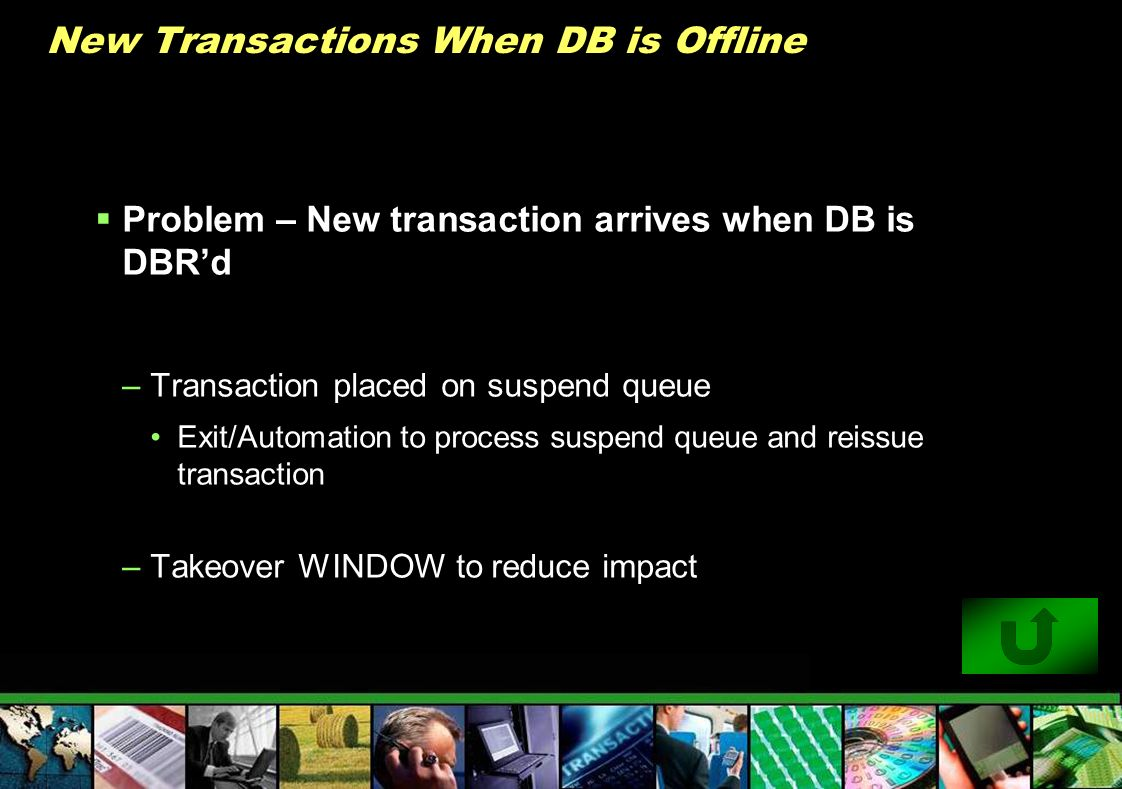 New Transactions When DB is Offline