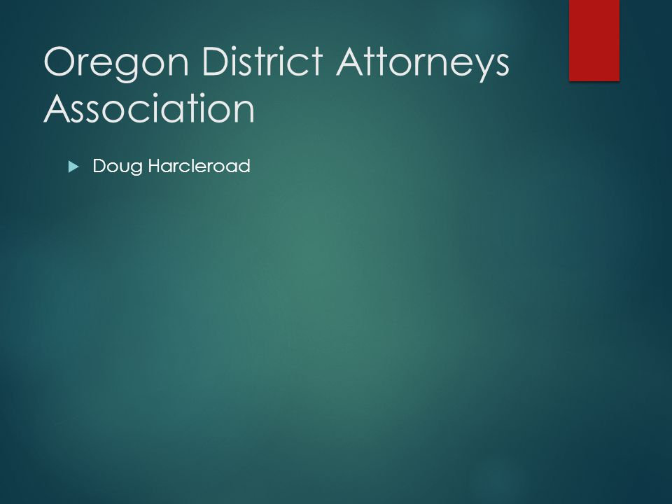 Oregon District Attorneys Association