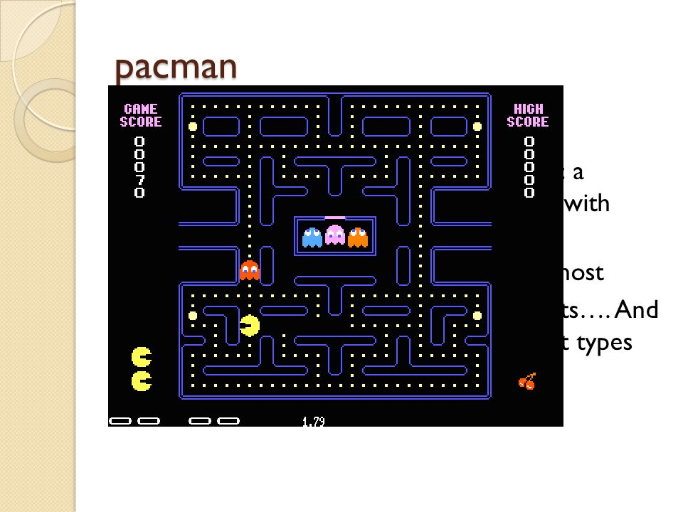 pacman Our final karel experience: