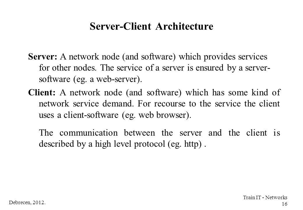 Server-Client Architecture