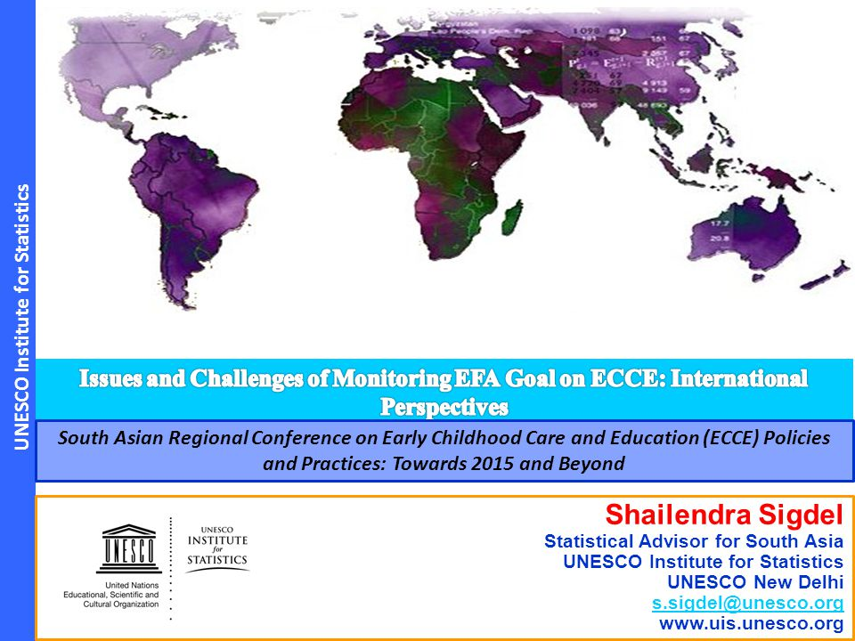 Issues and Challenges of Monitoring EFA Goal on ECCE: International Perspectives